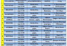 Photo of Βασιλόπιτες! Οι Σύλλογοι Λημνίων Αθήνας σε μια λίστα ! Καμαρώστε τους !