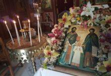Photo of Εσπερινός και Θ. Λειτουργία εορτής Αγίων ΡΑΦΑΗΛ– ΝΙΚΟΛΑΟΥ και ΕΙΡΗΝΗΣ