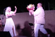 Photo of Η Ριτα Αντωνοπούλου σε μια συναυλία απο αυτες που μένουν !