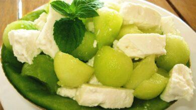Photo of Σαλάτα με πεπόνι και τυρί !!!